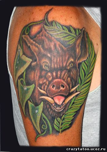 Временная татуировка в домашних условиях